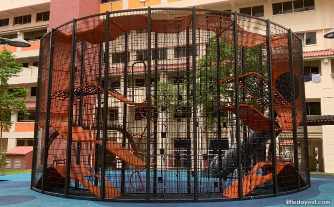 Blk 721, Jurong West Avenue 5 Wallhola Vertical Playground