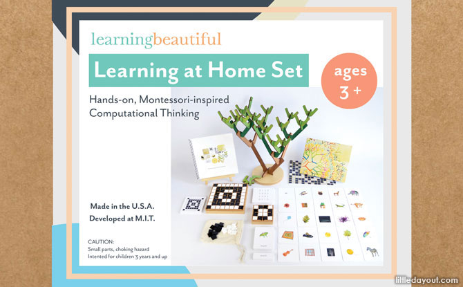 Learning Computing Without Computers: Review of Learning Beautiful Singapore's Learning At Home Set