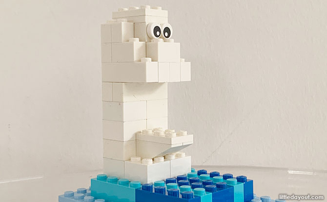 Build A LEGO Merlion Instructions