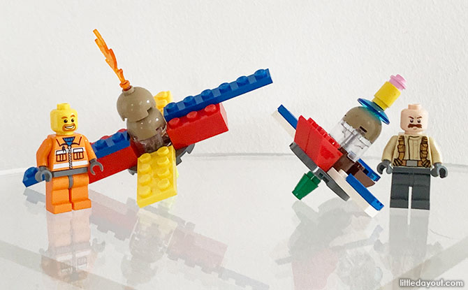 How To Build A LEGO Spinning Top (Plus Extra Activity Ideas)