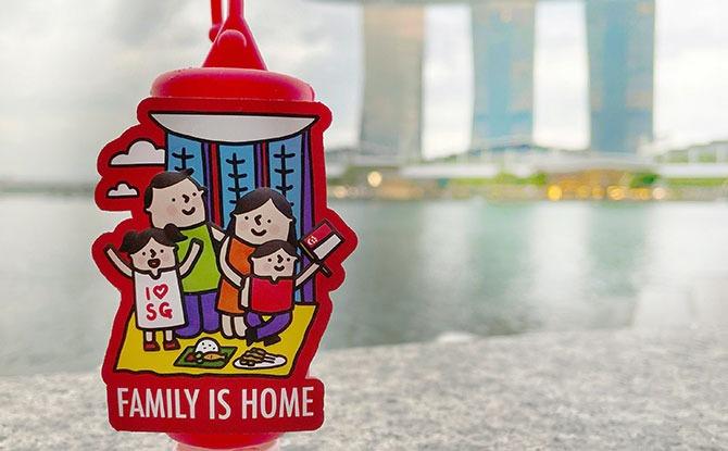Lifebuoy x The Singaporean Dream National Day 2021 Hand Sanitisers