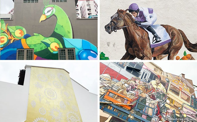 Little India Art: Street Murals Bringing Colour To The Historic District