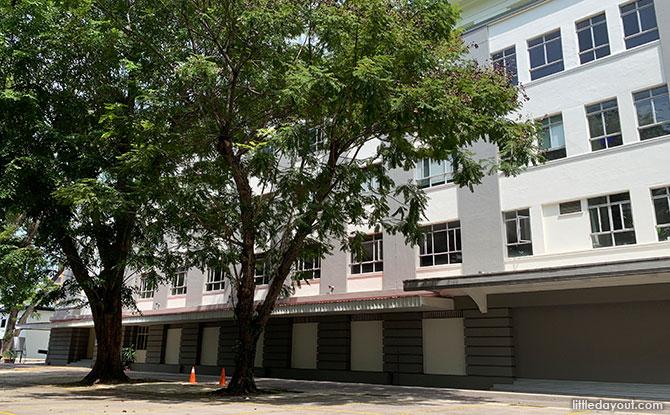 Lower Barracks of the Straits Settlement Police