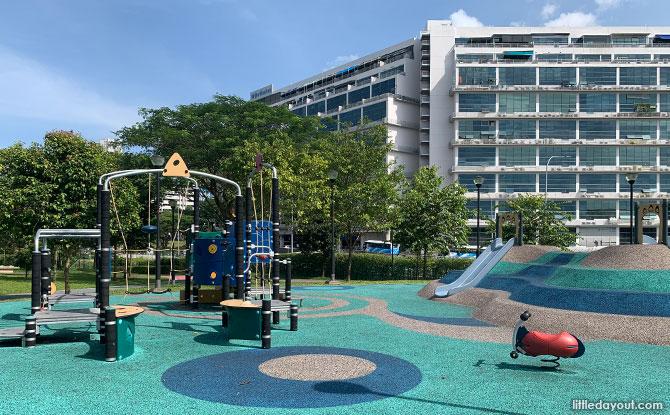 Luxus Hills Park Play Area