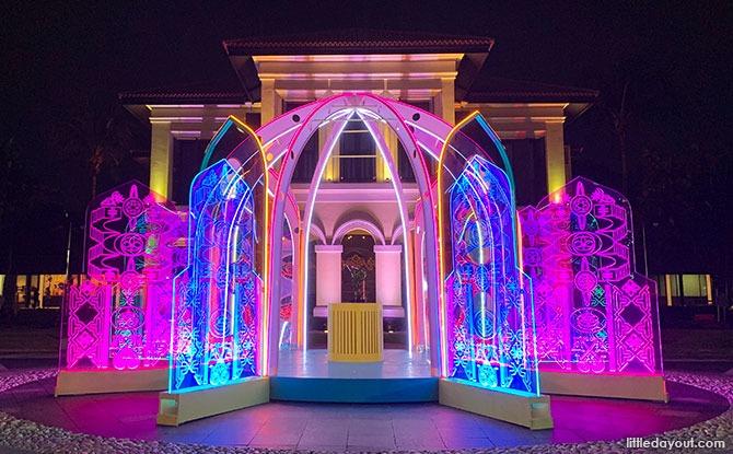 Mahkota Light Installation At Malay Heritage Centre: Open Till 10PM