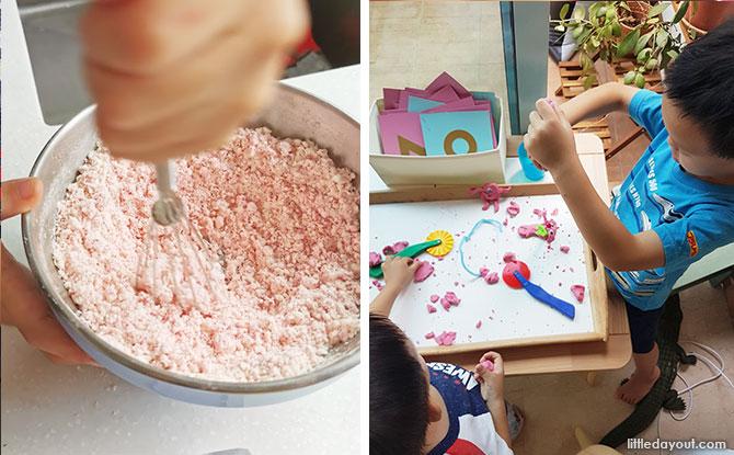We Tried Three: DIY Play Dough, Cloud Dough & Salt Dough - Make Your Own Playdough