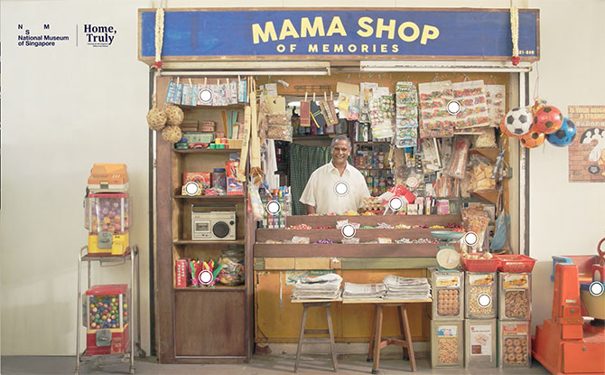 The Mama Shop Of Memories: Exchange Your Memories Of Singapore For Childhood Goodies