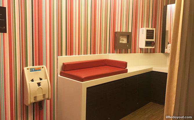 The Shoppes at Marina Bay Sands Nursing Room