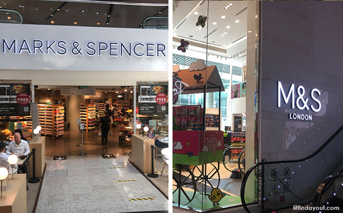 Marks & Spencer Refreshes Wheelock Place Flagship And Has A New Pop-Up at 313@Somerset