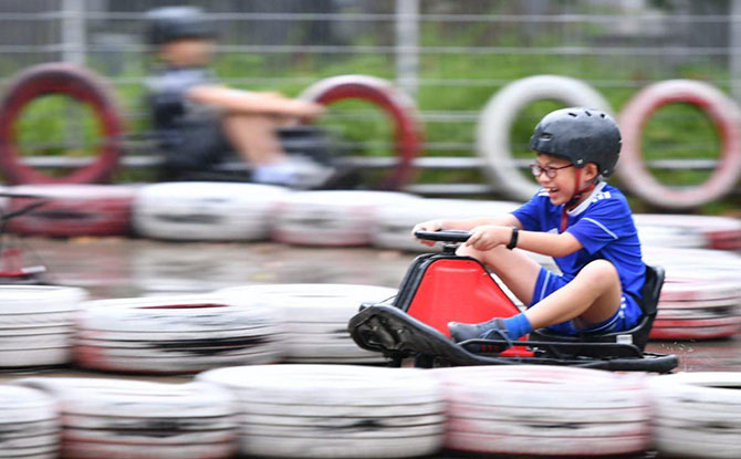 Go-Karting In Singapore: Off To The Races - Little Day Out