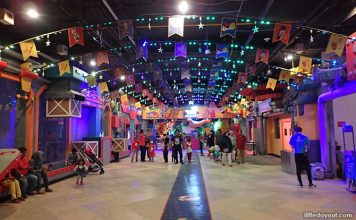 A Visit To MCM Theme Park at Capital 21 Mall in JB