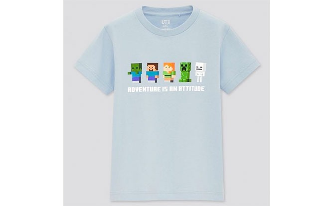 UNIQLO Minecraft T-shirts