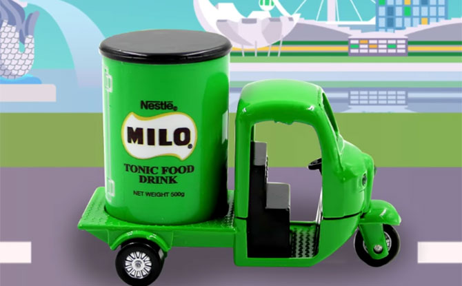 Collect A Cute Mini MILO Van In A 3-In-1 Promo Pack