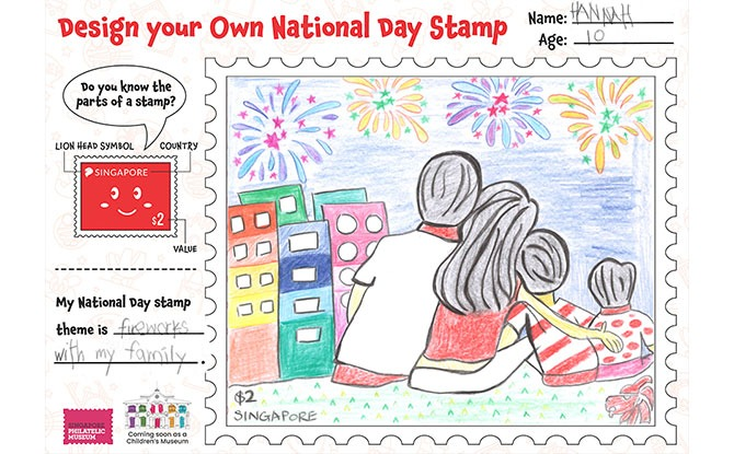 Design Your Own National Day Stamp And Win A Prize