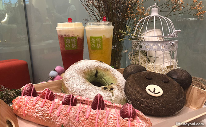 Nayuki Tea: Cheese Tea And Fluffy Bakes At VivoCity