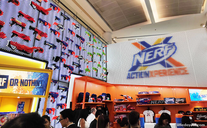 NERF Action Xperience Arena, Marina Square