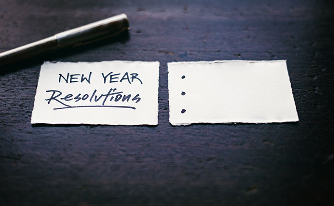 7 New Year Resolutions To Add To Your New Year Resolution List