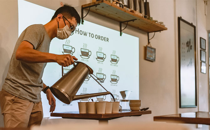 A Lighter Side of History: Coffee Beans for the Soul – Coffee Appreciation and Painting Workshop
