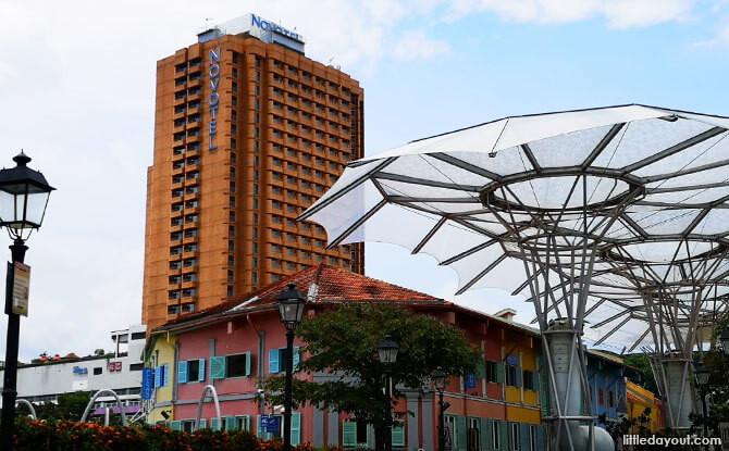 Novotel Clarke Quay - Right Next to Fort Canning MRT and Clarke Quay
