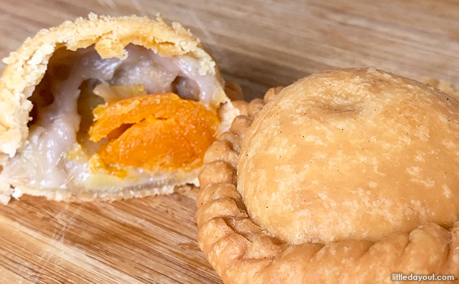 Taste Test: Old Chang Kee Salted Egg Yam'O Puff