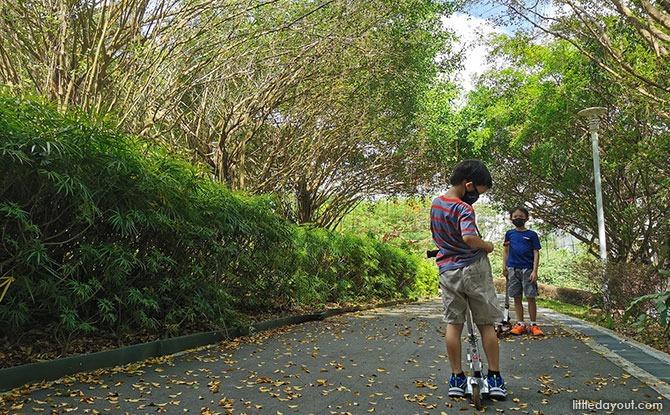 One North Park – One Park across Fusionopolis, Biopolis and Mediapolis
