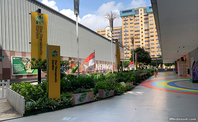 Sensory Trails, Parks and Gardens in Singapore - Our Tampines in a Garden