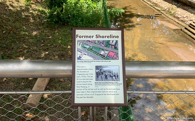Former Shoreline at Pasir Panjang Park