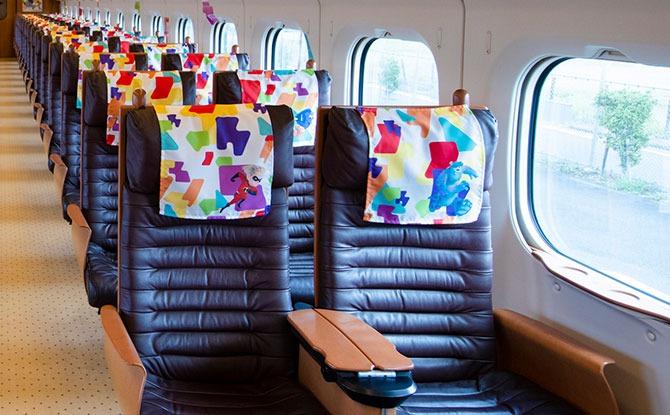 Interior of Pixar Train, Japan