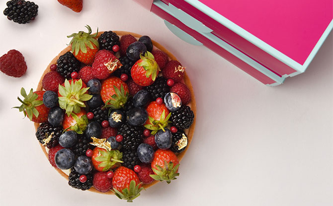 How to get the Limited-Edition DIY Mixed Berries Tart