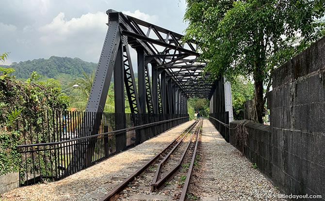 Rail Corridor Central - Upper Bukit Timah Truss Bridge