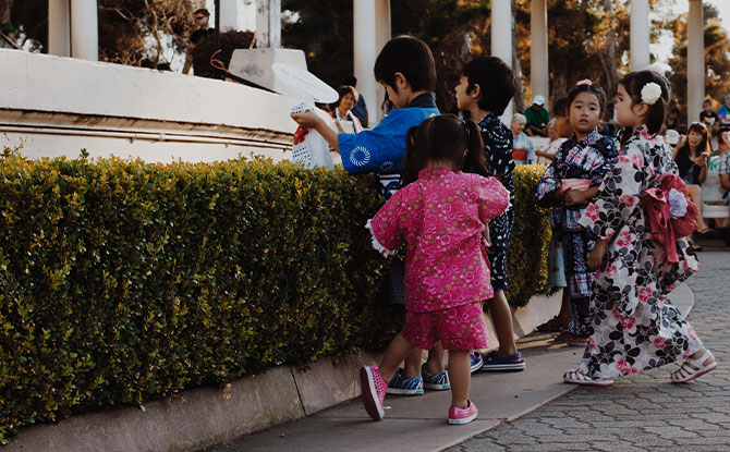 Raising kids in Japan