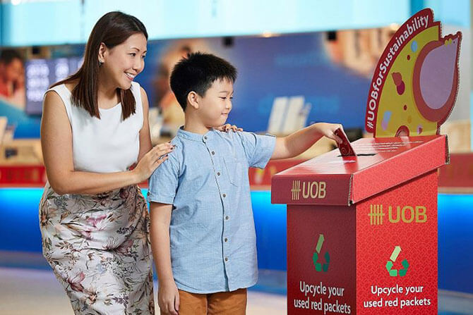 Recycling Red Packets