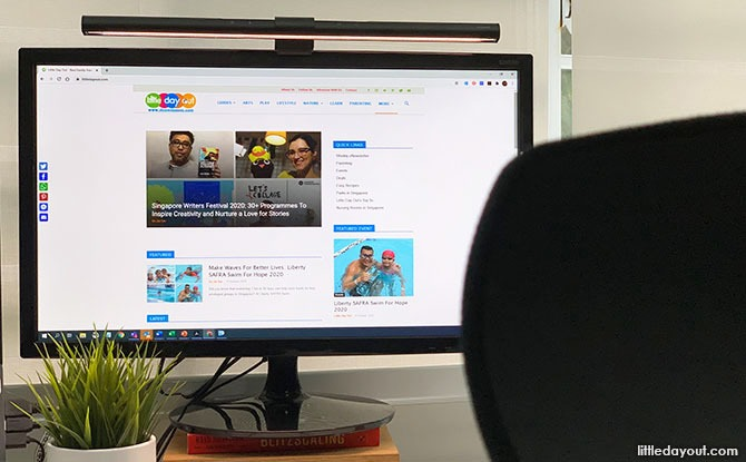 BenQ ScreenBar Review: We Put The Monitor Light To The Test While Working From Home