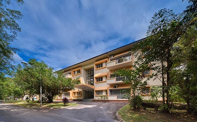 Walk-up apartments at Cyprus Road