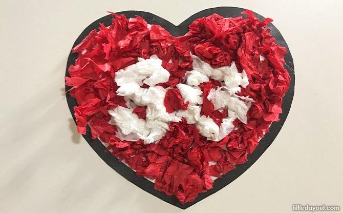 SG Paper Heart Art