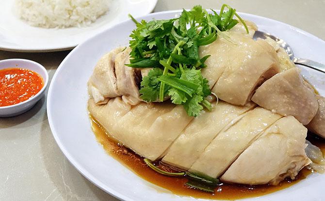 Singapore's National Dish – Chicken Rice