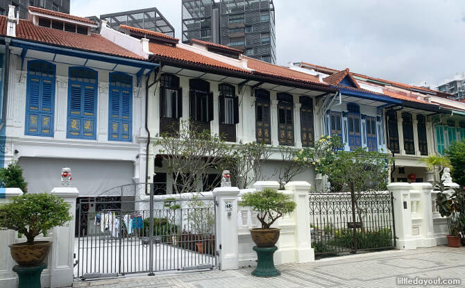 Shophouses on Emerald Hill