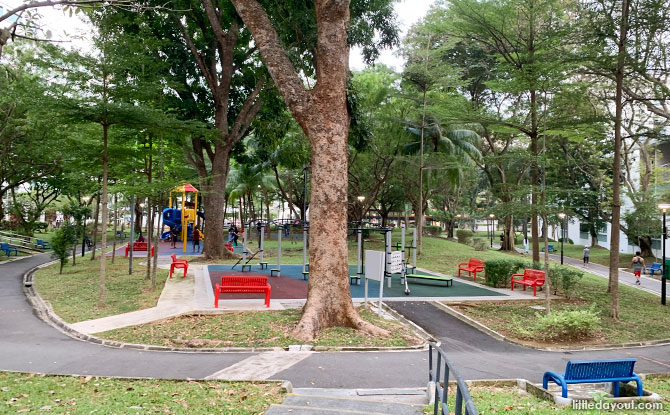 Simei Park: Neighbourhood Green Space, Playground & Park Connector