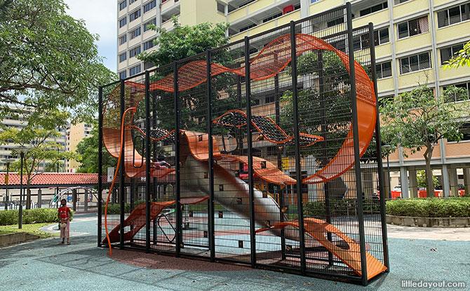 Simei Road Wallholla Playground