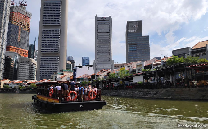 Rediscover Singapore: Cruising down Singapore River with Singapore River Cruise