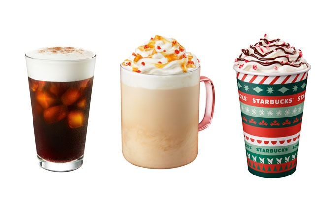 Starbucks Jolly Baked Apple Latte & Other Festive Beverages