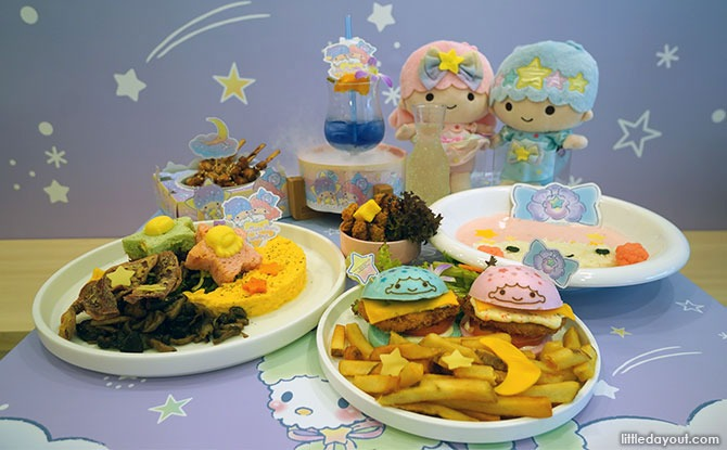 Little Twin Stars x Kumoya - Orchid Starry Dreamz Pop-Up Café.