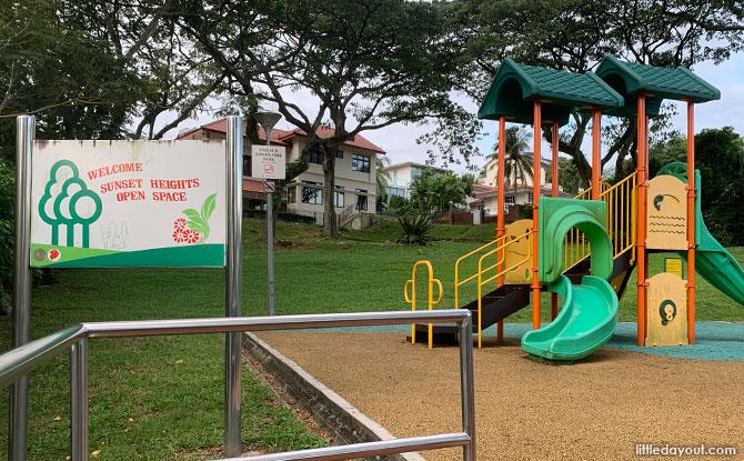 Sunset Heights Open Space: Pavilion & Children's Playground