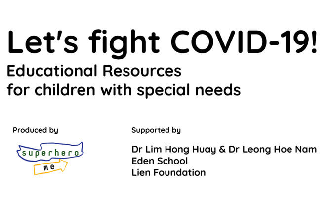 COVID-19 Educational Resources for children with special needs