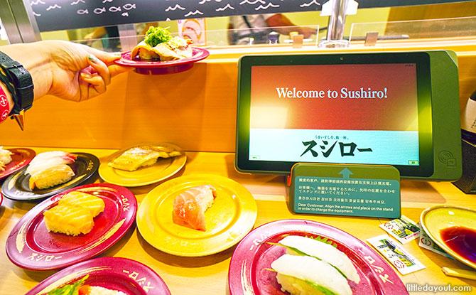 Sushi at Tiong Bahru Plaza
