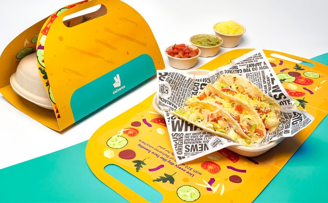 Celebrate National Taco Day With Limited Edition Taco Kits From Deliveroo