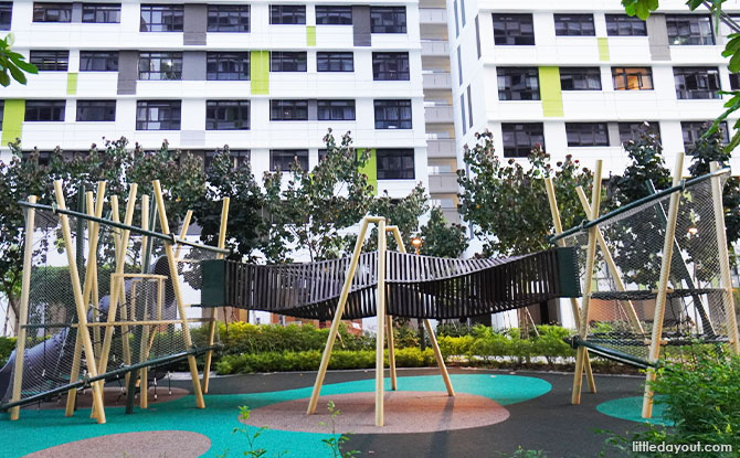 Tampines Greenweave Playground: Weaving Bridges and Tall Towers