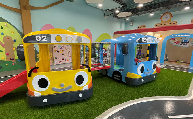 Petite Tayo KidsClub At Kallang Wave Mall: Indoor Playground With Work Space For Parents