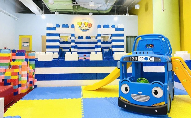 Tayo Station Has Opened A Pop-Up Playground & Store For The School Holidays