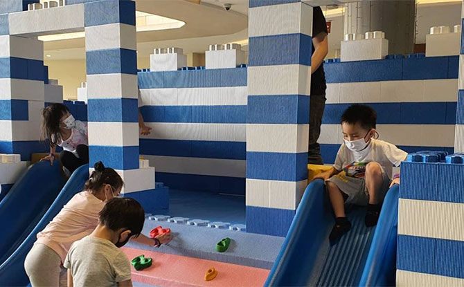 Pop-up Tayo Station Playspace at SAFRA Punggol